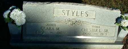 STYLES, CLARA M. - Sebastian County, Arkansas | CLARA M. STYLES - Arkansas Gravestone Photos