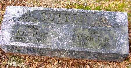 SUTTON, JULIA HUNT - Sebastian County, Arkansas   JULIA HUNT SUTTON - Arkansas Gravestone Photos