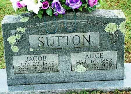 SUTTON, JACOB - Sebastian County, Arkansas   JACOB SUTTON - Arkansas Gravestone Photos