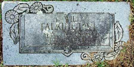 TALKINGTON, J. WILL - Sebastian County, Arkansas | J. WILL TALKINGTON - Arkansas Gravestone Photos