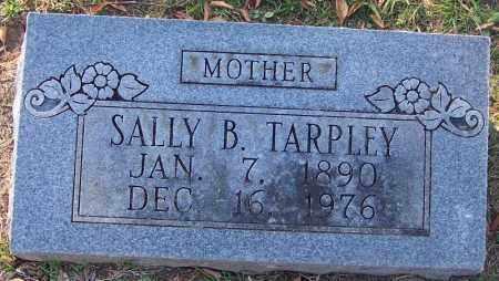 TARPLEY, SALLY B - Sebastian County, Arkansas   SALLY B TARPLEY - Arkansas Gravestone Photos