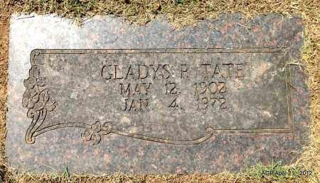 TATE, GLADYS P - Sebastian County, Arkansas | GLADYS P TATE - Arkansas Gravestone Photos