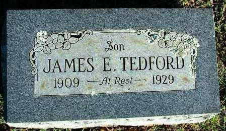TEDFORD, JAMES E. - Sebastian County, Arkansas | JAMES E. TEDFORD - Arkansas Gravestone Photos