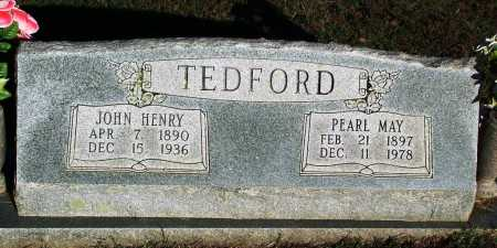 TEDFORD, PEARL MAY - Sebastian County, Arkansas   PEARL MAY TEDFORD - Arkansas Gravestone Photos
