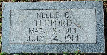 TEDFORD, NELLIE C. - Sebastian County, Arkansas | NELLIE C. TEDFORD - Arkansas Gravestone Photos