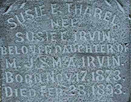 THAREL, SUSIE E. (2) - Sebastian County, Arkansas | SUSIE E. (2) THAREL - Arkansas Gravestone Photos