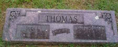 THOMAS, DORA E. - Sebastian County, Arkansas | DORA E. THOMAS - Arkansas Gravestone Photos