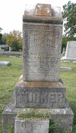 TUCKER, HENRY I. - Sebastian County, Arkansas   HENRY I. TUCKER - Arkansas Gravestone Photos