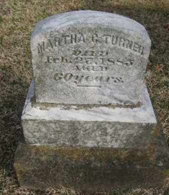 TURNER, MARTHA G. - Sebastian County, Arkansas   MARTHA G. TURNER - Arkansas Gravestone Photos