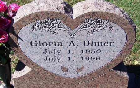 ULMER, GLORIA A - Sebastian County, Arkansas   GLORIA A ULMER - Arkansas Gravestone Photos