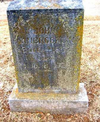 VAN BROCKLIN, JOHN - Sebastian County, Arkansas | JOHN VAN BROCKLIN - Arkansas Gravestone Photos
