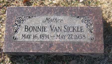 VAN SICKLE, BONNIE - Sebastian County, Arkansas   BONNIE VAN SICKLE - Arkansas Gravestone Photos