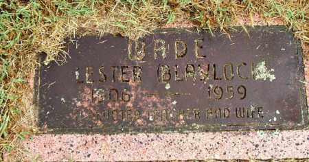 BLAYLOCK WADE, LESTER - Sebastian County, Arkansas | LESTER BLAYLOCK WADE - Arkansas Gravestone Photos