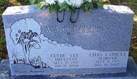 "MULLEN WAKEFIELD, CLYDE ""LEE"" - Sebastian County, Arkansas   CLYDE ""LEE"" MULLEN WAKEFIELD - Arkansas Gravestone Photos"