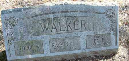 WALKER, RAYMOND J - Sebastian County, Arkansas | RAYMOND J WALKER - Arkansas Gravestone Photos