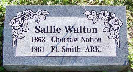 WALTON, SALLIE - Sebastian County, Arkansas | SALLIE WALTON - Arkansas Gravestone Photos