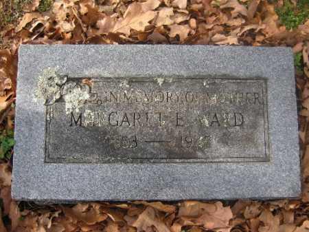 WARD, MARGARET E. - Sebastian County, Arkansas | MARGARET E. WARD - Arkansas Gravestone Photos