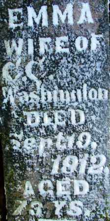 WASHINGTON, EMMA - Sebastian County, Arkansas | EMMA WASHINGTON - Arkansas Gravestone Photos