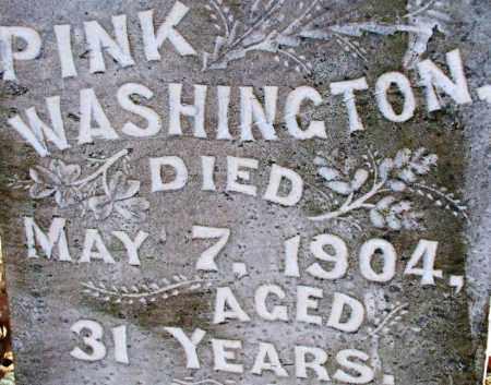WASHINGTON, PINK - Sebastian County, Arkansas | PINK WASHINGTON - Arkansas Gravestone Photos