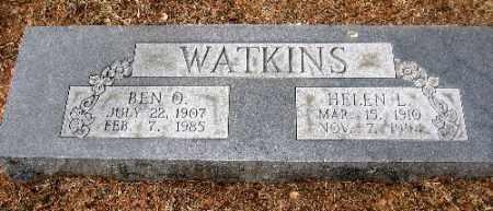WATKINS, HELEN L. - Sebastian County, Arkansas | HELEN L. WATKINS - Arkansas Gravestone Photos