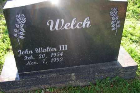 WELCH, JOHN - Sebastian County, Arkansas | JOHN WELCH - Arkansas Gravestone Photos