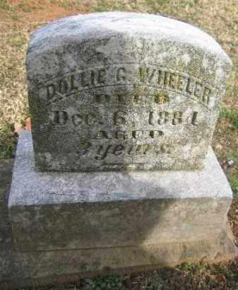WHEELER, DOLLIE G. - Sebastian County, Arkansas | DOLLIE G. WHEELER - Arkansas Gravestone Photos