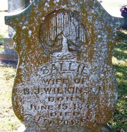 WILKINSON, SALLIE - Sebastian County, Arkansas   SALLIE WILKINSON - Arkansas Gravestone Photos