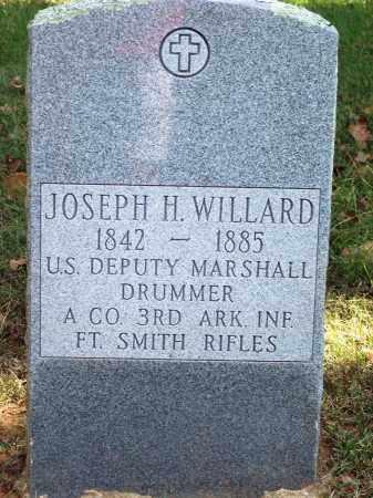 WILLARD (VETERAN CSA) (PUBLIC, JOSEPH HENRY - Sebastian County, Arkansas   JOSEPH HENRY WILLARD (VETERAN CSA) (PUBLIC - Arkansas Gravestone Photos