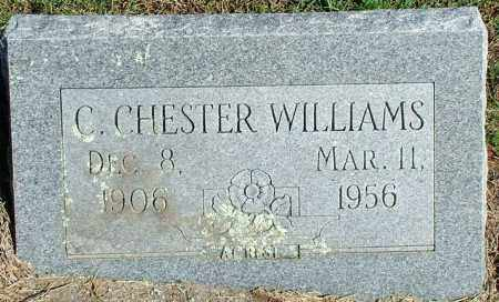WILLIAMS, C. CHESTER - Sebastian County, Arkansas | C. CHESTER WILLIAMS - Arkansas Gravestone Photos