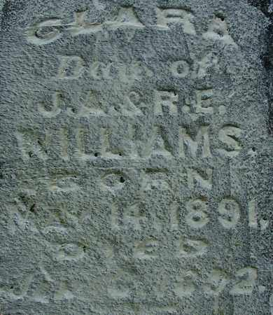 WILLIAMS, CLARA (2) - Sebastian County, Arkansas   CLARA (2) WILLIAMS - Arkansas Gravestone Photos