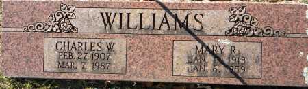 WILLIAMS, MARY R - Sebastian County, Arkansas   MARY R WILLIAMS - Arkansas Gravestone Photos