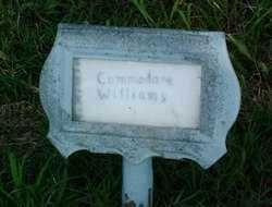 WILLIAMS, COMMODORE - Sebastian County, Arkansas | COMMODORE WILLIAMS - Arkansas Gravestone Photos
