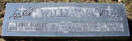 WILLIAMS, LEWIS ROBERT - Sebastian County, Arkansas | LEWIS ROBERT WILLIAMS - Arkansas Gravestone Photos