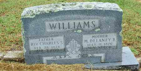 WILLIAMS, M. DELANEY B. - Sebastian County, Arkansas | M. DELANEY B. WILLIAMS - Arkansas Gravestone Photos