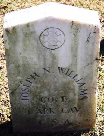 WILLIAMS (VETERAN CSA), JOSEPH N - Sebastian County, Arkansas | JOSEPH N WILLIAMS (VETERAN CSA) - Arkansas Gravestone Photos