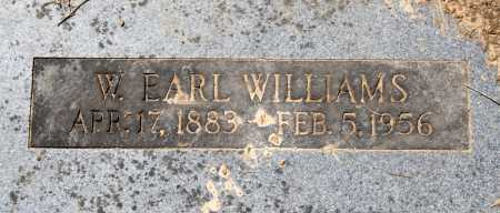 WILLIAMS, W. EARL - Sebastian County, Arkansas | W. EARL WILLIAMS - Arkansas Gravestone Photos
