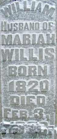 WILLIS, WILLIAM - Sebastian County, Arkansas   WILLIAM WILLIS - Arkansas Gravestone Photos