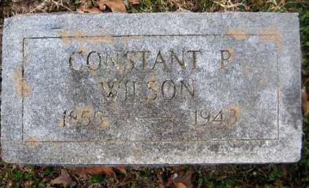 WILSON, CONSTANT P. - Sebastian County, Arkansas | CONSTANT P. WILSON - Arkansas Gravestone Photos