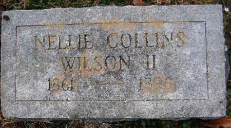WILSON, NELLIE COLLINS II - Sebastian County, Arkansas | NELLIE COLLINS II WILSON - Arkansas Gravestone Photos