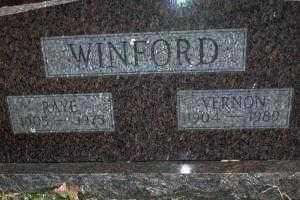 WINFORD, RAYE - Sebastian County, Arkansas | RAYE WINFORD - Arkansas Gravestone Photos