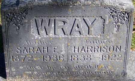 WRAY, HARRISON - Sebastian County, Arkansas | HARRISON WRAY - Arkansas Gravestone Photos