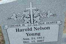YOUNG, HAROLD NELSON - Sebastian County, Arkansas | HAROLD NELSON YOUNG - Arkansas Gravestone Photos