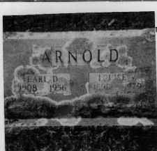 VAUGHAN ARNOLD, LOUISE - Sevier County, Arkansas | LOUISE VAUGHAN ARNOLD - Arkansas Gravestone Photos