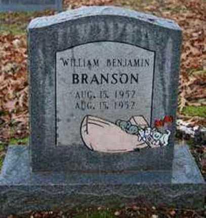 BRANSON, WILLIAM BENJAMIN - Sevier County, Arkansas | WILLIAM BENJAMIN BRANSON - Arkansas Gravestone Photos