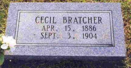 BRATCHER, CECIL - Sevier County, Arkansas | CECIL BRATCHER - Arkansas Gravestone Photos