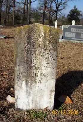 CARROLL  (VETERAN CSA), JOHN WESLEY - Sevier County, Arkansas | JOHN WESLEY CARROLL  (VETERAN CSA) - Arkansas Gravestone Photos