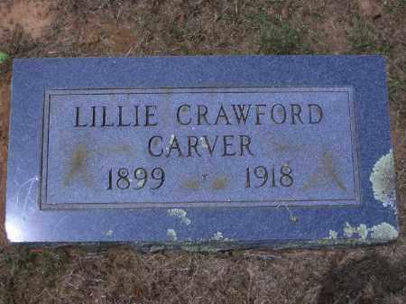 CARVER, LILLIE - Sevier County, Arkansas   LILLIE CARVER - Arkansas Gravestone Photos
