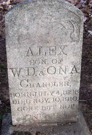 CHANDLER, ALEX - Sevier County, Arkansas | ALEX CHANDLER - Arkansas Gravestone Photos
