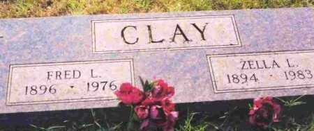 CLAY, ZELLA L - Sevier County, Arkansas | ZELLA L CLAY - Arkansas Gravestone Photos