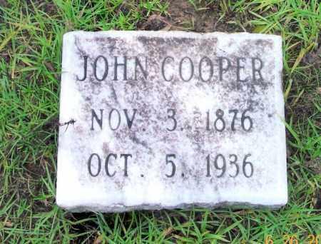 COOPER, JOHN - Sevier County, Arkansas | JOHN COOPER - Arkansas Gravestone Photos